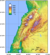 Lebanon's Geography