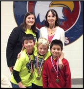 1st Place Win for Math Wings Team