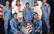 The STS-61B Crew