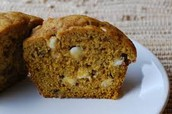 Try our new pumpkin spice muffin
