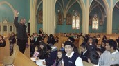 Mass Practice with Father Wichert...Gracias Padre!!
