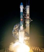 Oppys Launch aboard Boeings Delta