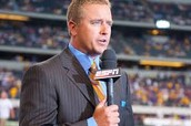And former college and NFL player and best sportscaster of 2013 Kirk Herbstreit