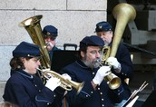 Come enjoy the music of the Fort Point Garrison Brass Band.