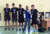 מקום ראשון בגמר המחוזי בטניס שולחן