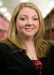 Ashley Ireland, Director of User & Instruction Services - University Libraries