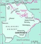 Capitol of Botswana