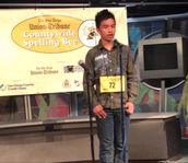 Our Spelling Bee Participant