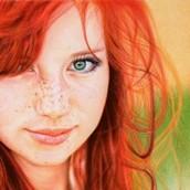 Portrait (Colored Pencils)