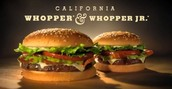 Commercial for BK's Whopper