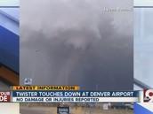 Tornado in Denver