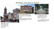 Places of interest in Washington, Iowa