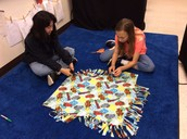 Katharine and Jillian are Working on Blankets!