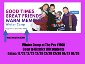 YMCA Winter Camp