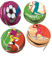 Sport Themed Yo-Yos