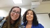 Selfie With Presenter, Susan Gaer