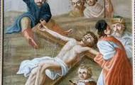 11.Pan Jezus do krzyza przybijany.