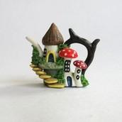 Mushroom House Miniature