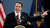 NYS Governor Cuomo at one of his many speeches