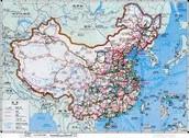 China Transportation Map