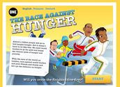 The race against hunger