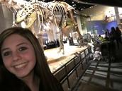 A dinosaur and myself