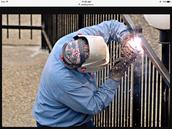 welding  fence