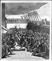 Describe the social effects of the slave trade.