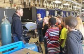 Eugene Field 5th graders tour Hart Career Center