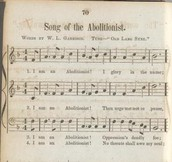 """Song of the Abolitionist"" (I am an Abolitionist!)"