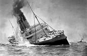 Sinking of the Lusitania- 1915