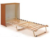 Portable cabinet beds