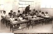 למידה בכיתות בעבר