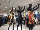 Visual merchandising by trend