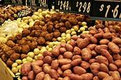 انواع البطاطا