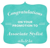 Congrats on Promoting to Associate Stylist in your jumpstart!