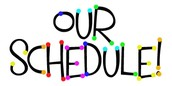 Itinerant Staff On-Site Schedule