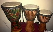 These talking drums are for sale right now!