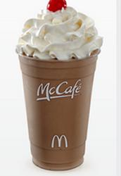 McCafe Chocolate Shake