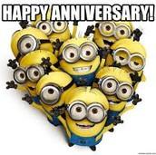 Thirty-One Anniversaries!!