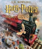 Illustrated Edition - Harry Potter Sorcerer's Stone
