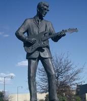 Buddy Holy Statue