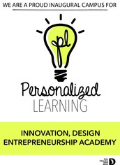 Stay connected to the Innovation, Design, Entrepreneurship Academy!