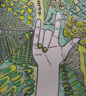 Contoured Hand