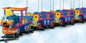 Slik road Kiddie train!