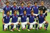 Japanese National Men's Soccer Team