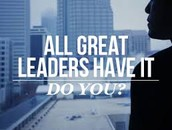 Qualitys Needed To Become A Leader!