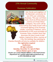 27th Annual Community Kwanzaa Celebration
