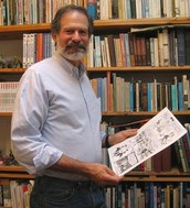 "APRIL 8TH LARRY GONICK  HIS TALK ENTITLED ""COMICS--WHAT'S THE BIG IDEA?"" @ 4PM IN THE ROUND ROOM"
