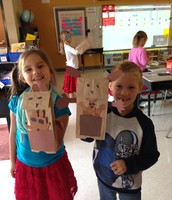Students learned that a kanagaroo is a special mammal called a marsupial!